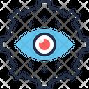 Monitor Execution Cog Cogwheel Icon