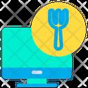 Monitor Food Icon