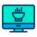 Monitor Food Online Food Icon