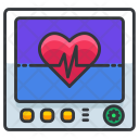 Monitor Heartbeat Icon