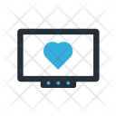 Monitor heartbeat Icon