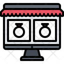 Monitor Computer Shop Icon