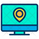 Monitor Location Icon
