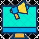 Monitor Marketing Icon
