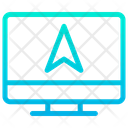 Monitor Navigation Icon