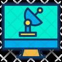 Monitor News Icon