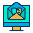 Online Book E Book Mail E Book Learning Icon