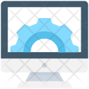 Monitor Settings Configuration Icon