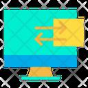 Folder Monitor Computer Icon