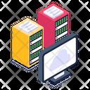 Shared Hosting System Storage Monitor Storage Icon
