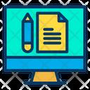 Monitor Study Note Icon