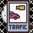 Monitor Traffic Icon