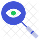 Monitoring Searchning Find Icon
