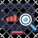 Monitoring Analysis Research Icon