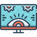 Monitoring Investigation Technology Icon