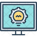Monitoring Investigation Inquiry Icon