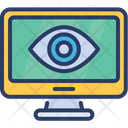 Eye Computer Vision Icon