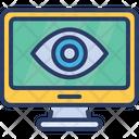Eye Computer Vision Icon