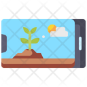 Cloud Forecast Land Icon