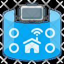 Monitoring Surveillance Virtual Reality Icon