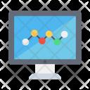 Monitoring Analysis Graph Icon