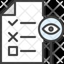 Monitoring Document Icon