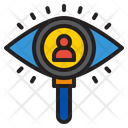 Monitoring Employee Monitoring Eye Icon