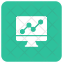 Monitoring graph Icon
