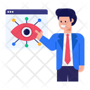 View Network Web Monitoring Monitoring Network Icon