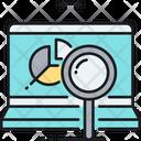 Monitoring Project Data Data Analysis Analytics Icon