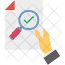 Monitoring Report Personal Development Self Analysis Icon
