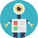 Monitoring Robot Icon