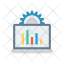 Monitoring System Chart Icon