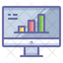Analytics Computer Chart Icon