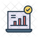 Monitoring System Laptop Icon