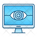 Monitoring Security Protection Icon