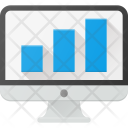 Computer Chart Business Icon
