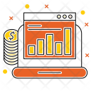 Monitoring Report Budget Icon
