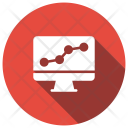 Monitoring System Charts Report Icon