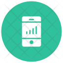 Monitoring System Analytics Graph Icon