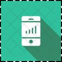 Monitoring System Analytics Graph Icon