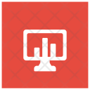 Monitoring System Chart Screen Icon