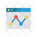 Monitoring System Analytic Graph Icon