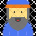 Monk Beard Man Priest Icon