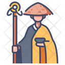 Imonk Japan Monk Religion Icon