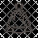 Monk zazen Icon