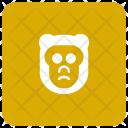 Monkey Animal Chimpanzee Icon