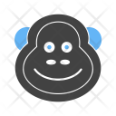 Monkey Animal Wildlife Icon