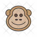 Monkey Animal Wildlife Icon