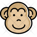 Monkey Year Of Mokey Animal Icon